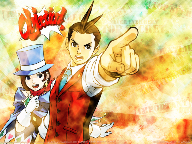 Apollo Justice : Ace Attorney Anime Wallpaper #1