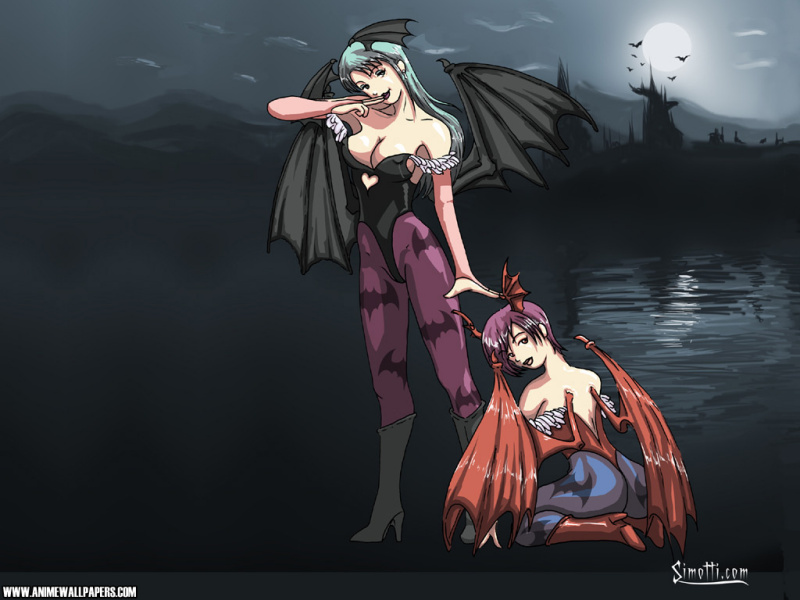 Darkstalkers Game Wallpaper # 1