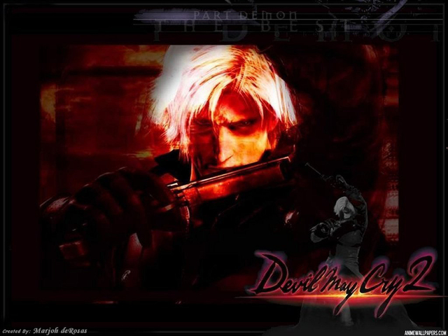 Devil May Cry 2 Anime Wallpaper #3