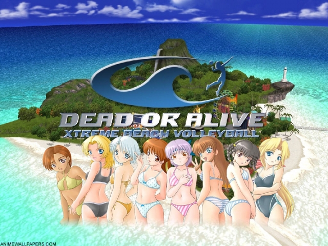 Dead or Alive Volleyball Anime Wallpaper #2