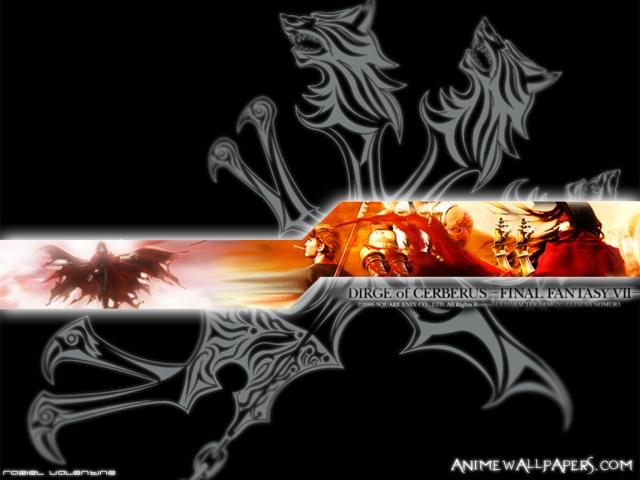 Final Fantasy VII: Dirge of Cerberus Anime Wallpaper #1