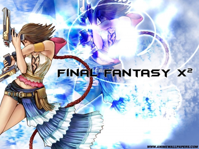 Final Fantasy X2 Anime Wallpaper #10