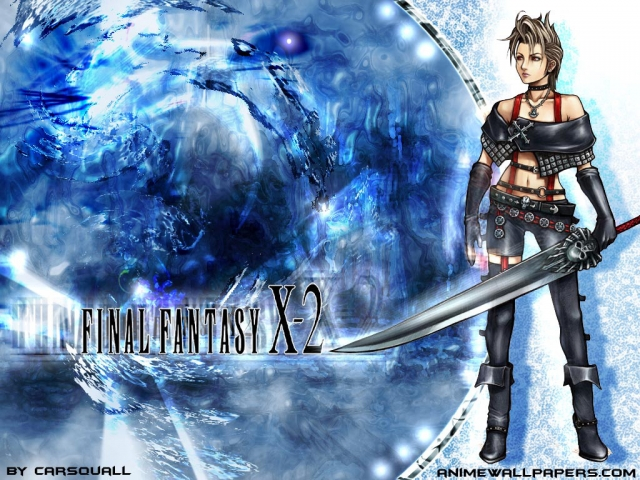 Final Fantasy X2 Anime Wallpaper #11