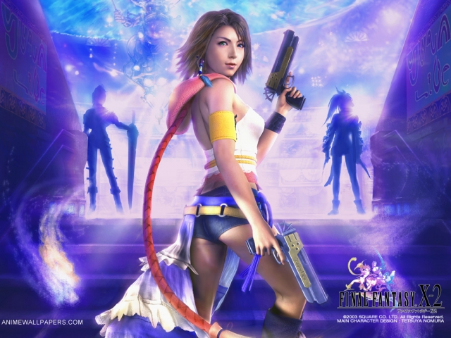 Final Fantasy X2 Anime Wallpaper #13