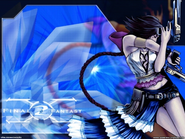 Final Fantasy X2 Anime Wallpaper #15