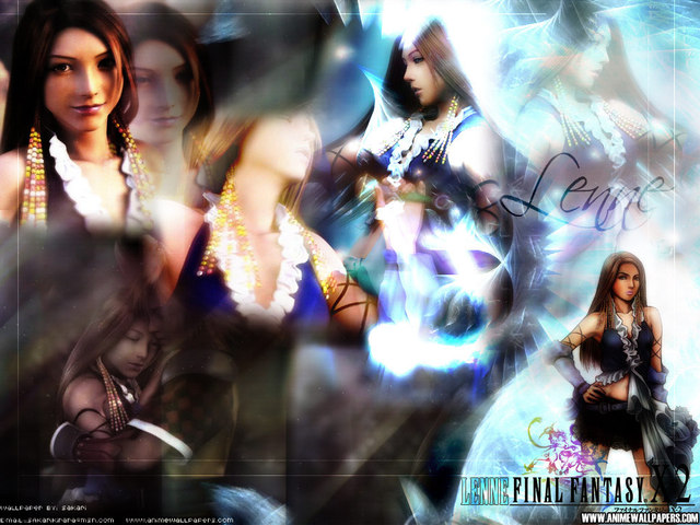 Final Fantasy X2 Anime Wallpaper #18
