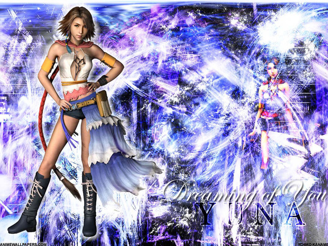 Final Fantasy X2 Anime Wallpaper #19