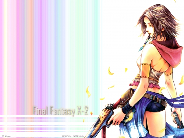 Final Fantasy X2 Anime Wallpaper #1