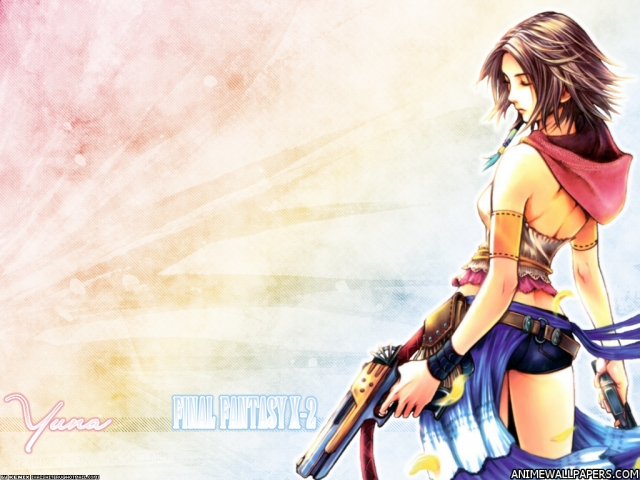 Final Fantasy X2 Anime Wallpaper #20