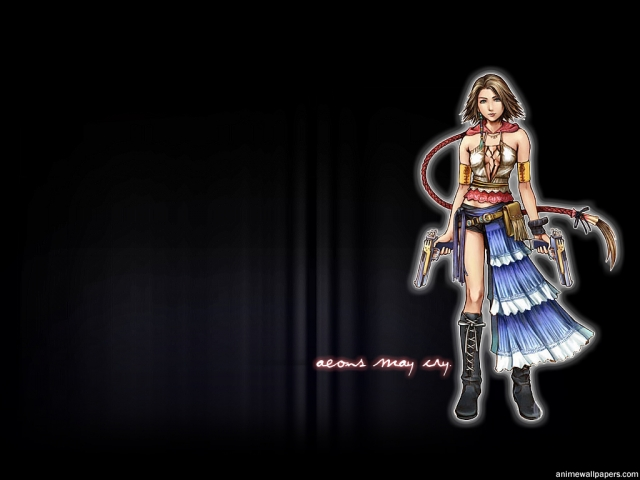 Final Fantasy X2 Anime Wallpaper #2