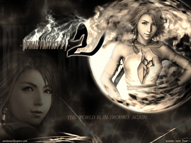 Final Fantasy X2 Anime Wallpaper #7