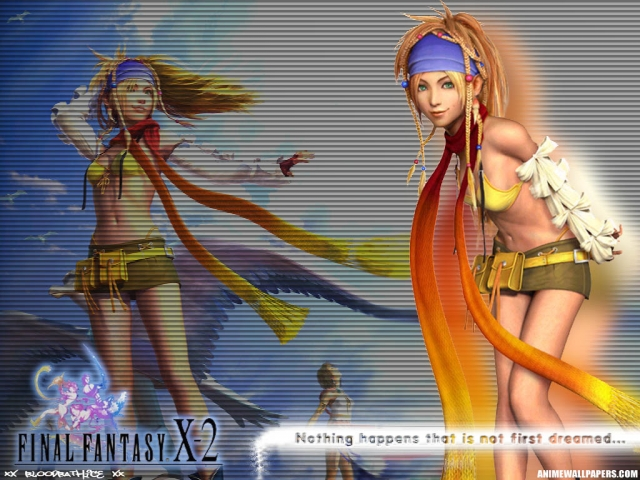 Final Fantasy X2 Anime Wallpaper #9