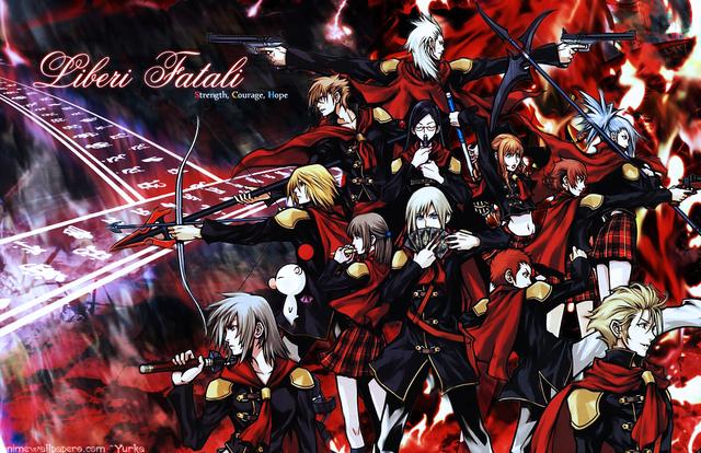 Final Fantasy XIII Anime Wallpaper #2