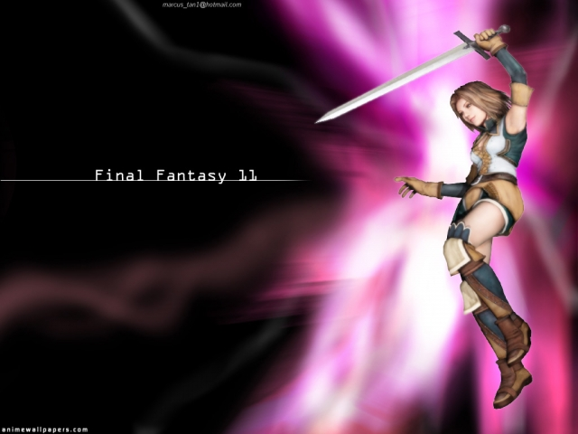 Final Fantasy XI Anime Wallpaper #1