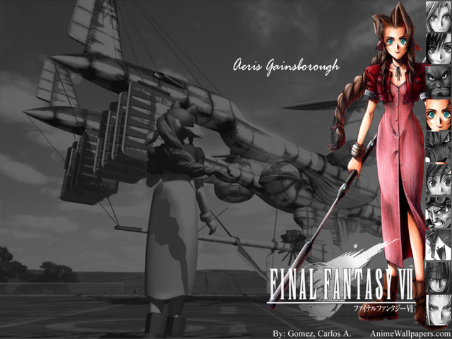 Final Fantasy VII Anime Wallpaper #11