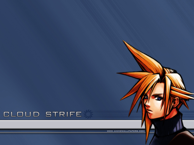 Final Fantasy VII Anime Wallpaper #12