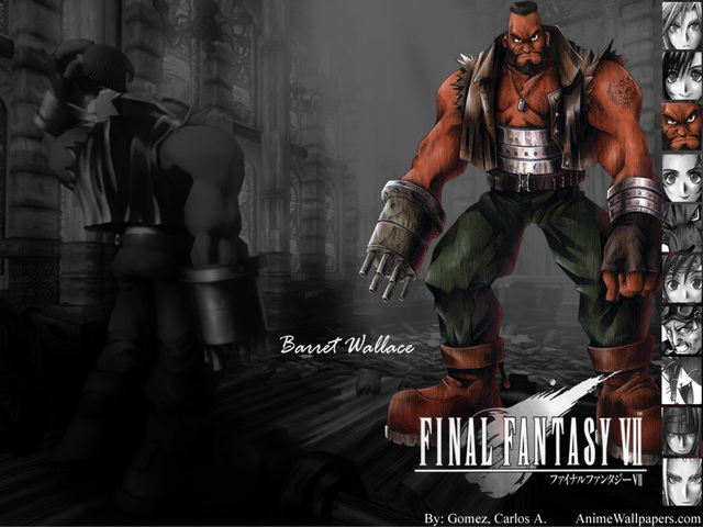 Final Fantasy VII Anime Wallpaper #16