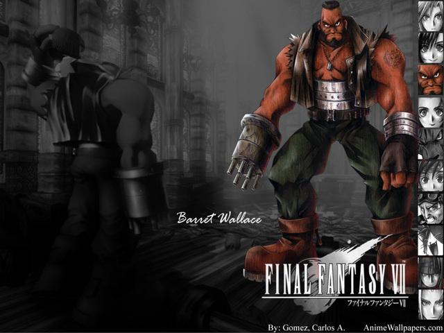 Final Fantasy VII Anime Wallpaper #16