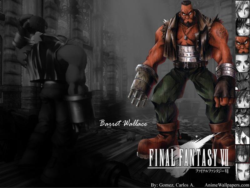 Final Fantasy VII Game Wallpaper # 16