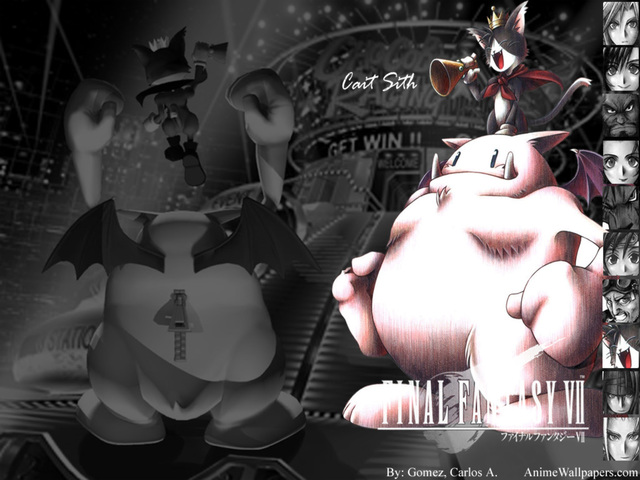 Final Fantasy VII Anime Wallpaper #17