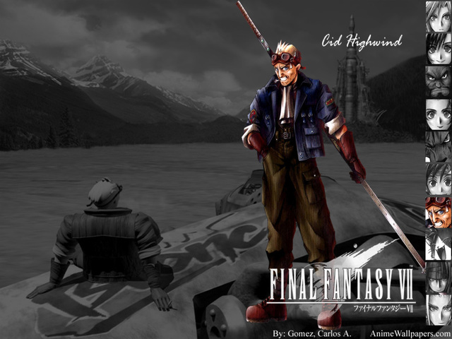 Final Fantasy VII Anime Wallpaper #18