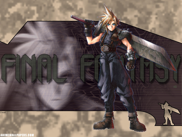 Final Fantasy VII Anime Wallpaper #19