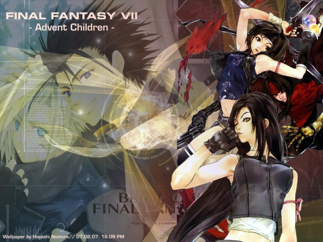 Final Fantasy VII Anime Wallpaper #1