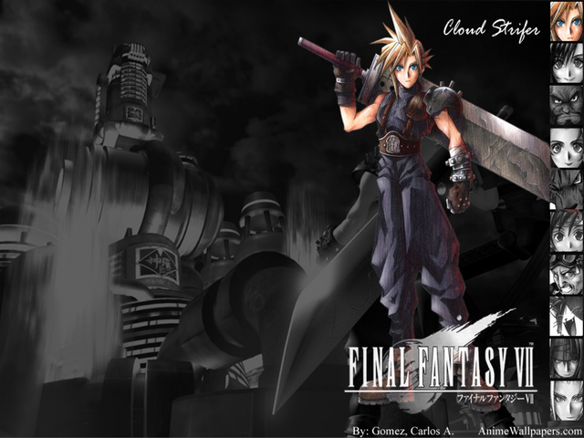 Final Fantasy VII Anime Wallpaper #23