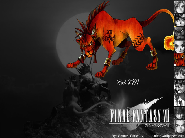 Final Fantasy VII Anime Wallpaper #24