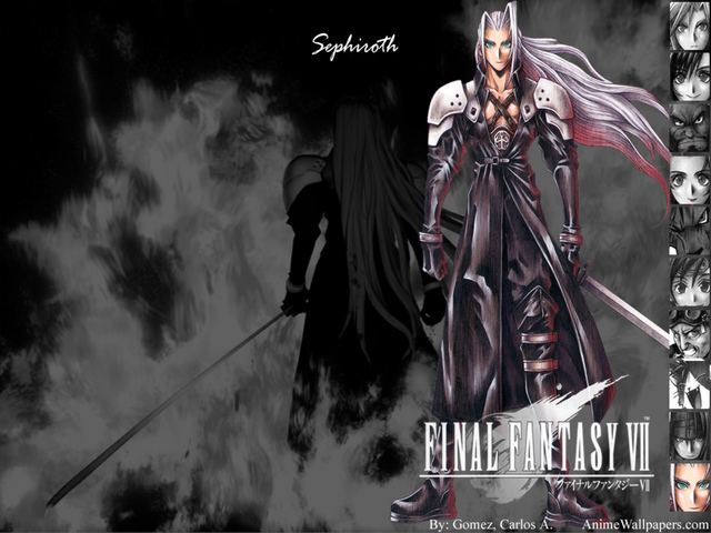 Final Fantasy VII Anime Wallpaper #25