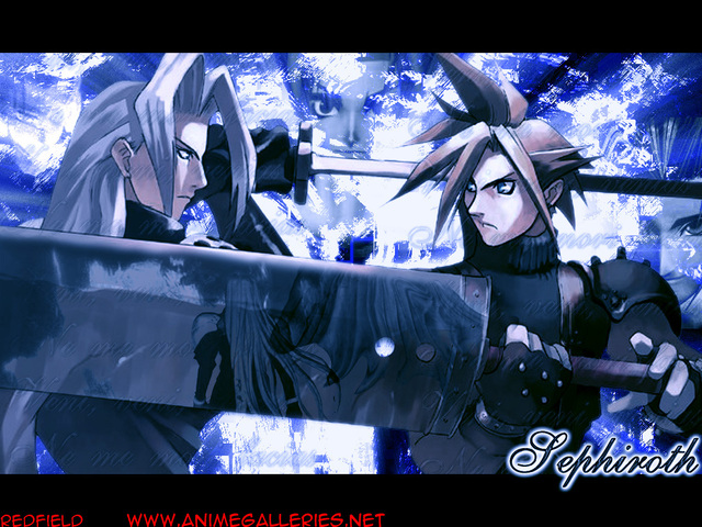 Final Fantasy VII Anime Wallpaper #29
