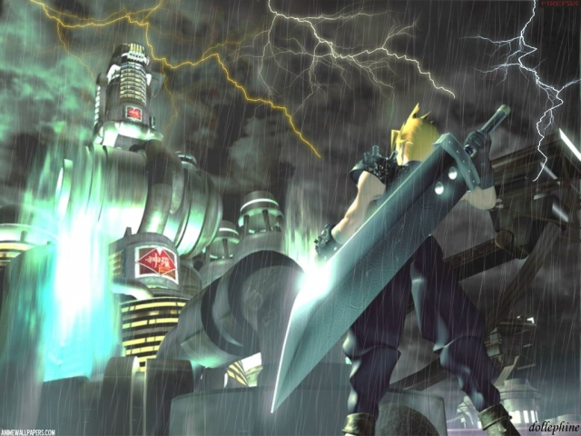Final Fantasy VII Anime Wallpaper #4