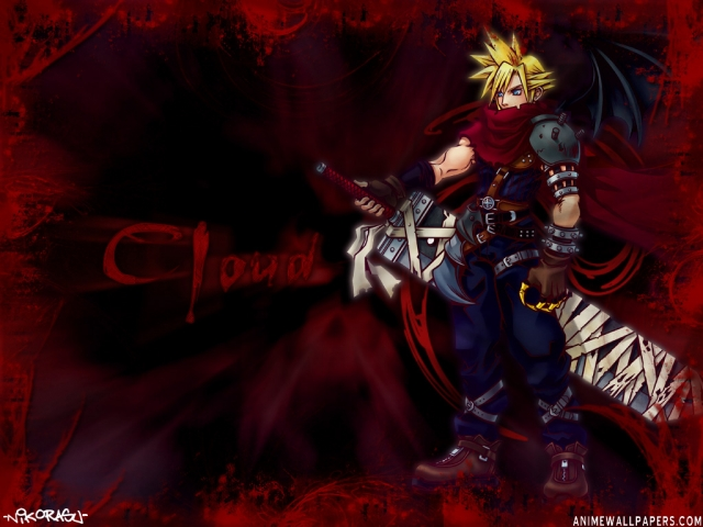 Final Fantasy VII Anime Wallpaper #8