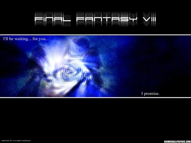 Final Fantasy VIII Anime Wallpaper #6