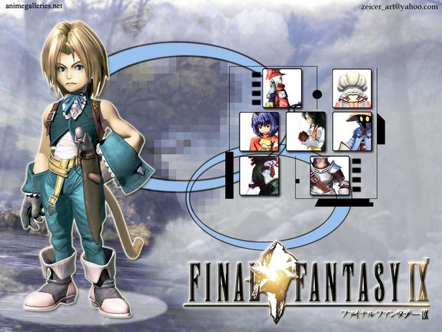 Final Fantasy IX Anime Wallpaper #1