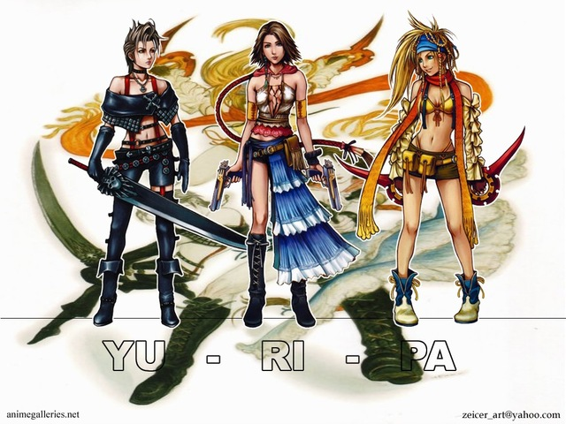 Final Fantasy X Anime Wallpaper #11