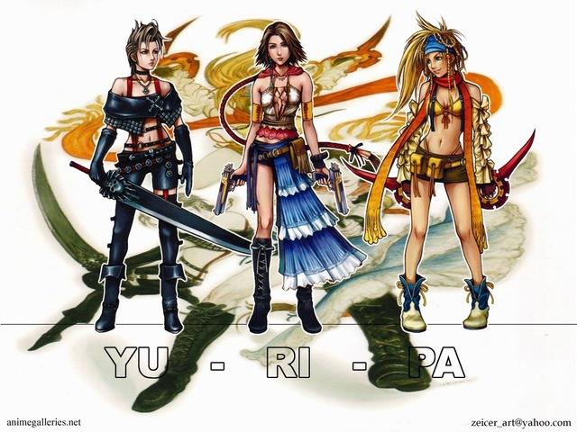 Final Fantasy X Anime Wallpaper #11
