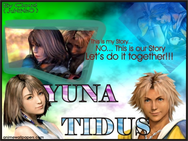 Final Fantasy X Anime Wallpaper #5