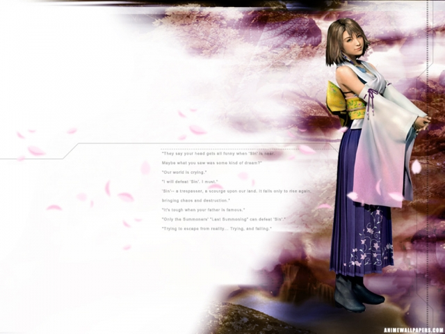 Final Fantasy X Anime Wallpaper #6