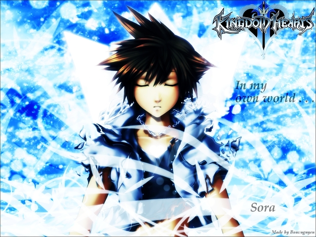 Kingdom Hearts 2 Anime Wallpaper #12