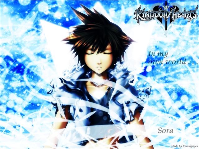 Kingdom Hearts 2 Anime Wallpaper #12