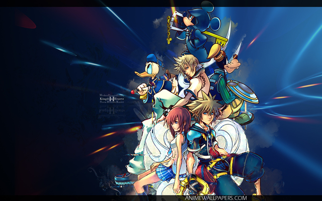 Kingdom Hearts 2 Anime Wallpaper #13