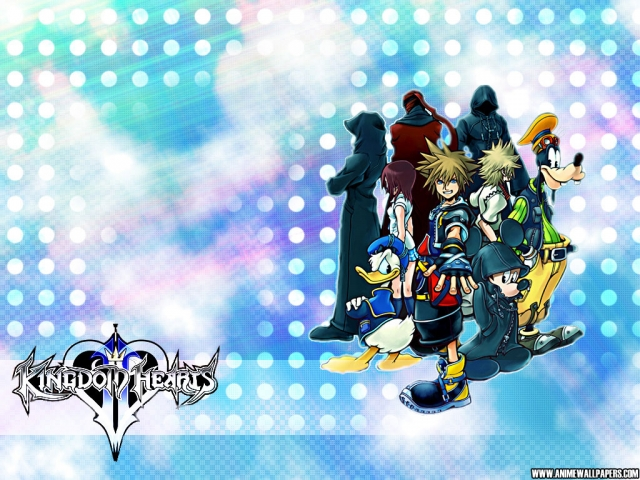 Kingdom Hearts 2 Anime Wallpaper #1