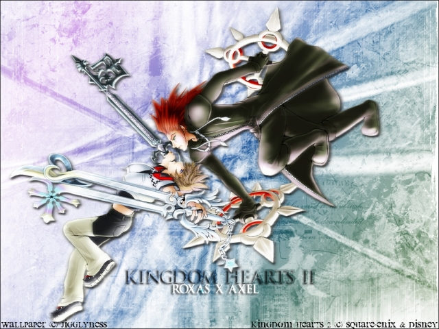 Kingdom Hearts 2 Anime Wallpaper #4