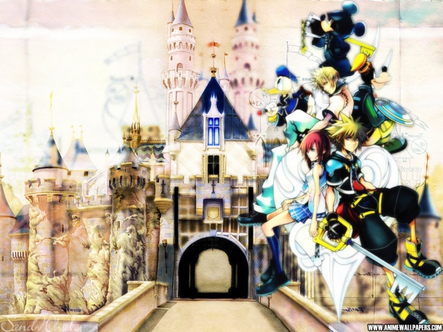 Kingdom Hearts 2 Anime Wallpaper #7