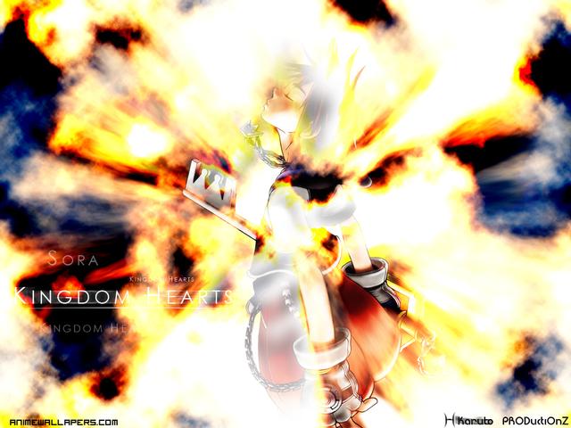 Kingdom Hearts 2 Anime Wallpaper #8