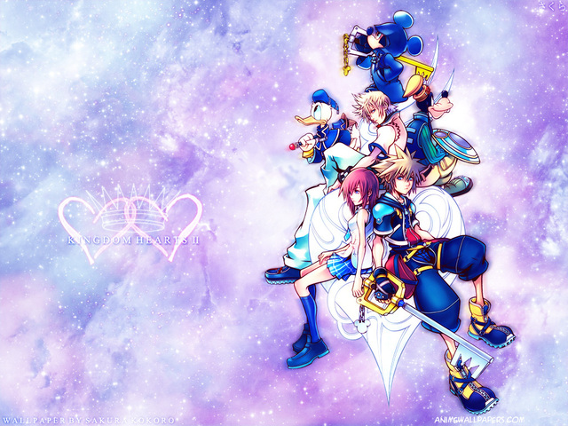 Kingdom Hearts 2 Anime Wallpaper #9