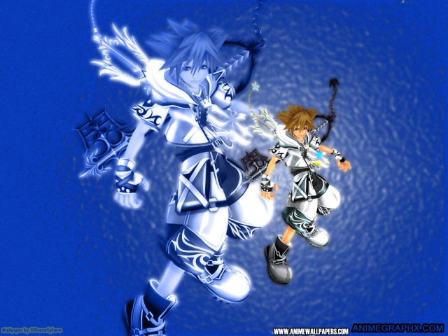 Kingdom Hearts Anime Wallpaper #4