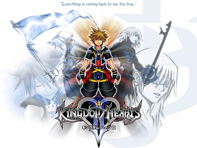 Kingdom Hearts Anime Wallpaper #6