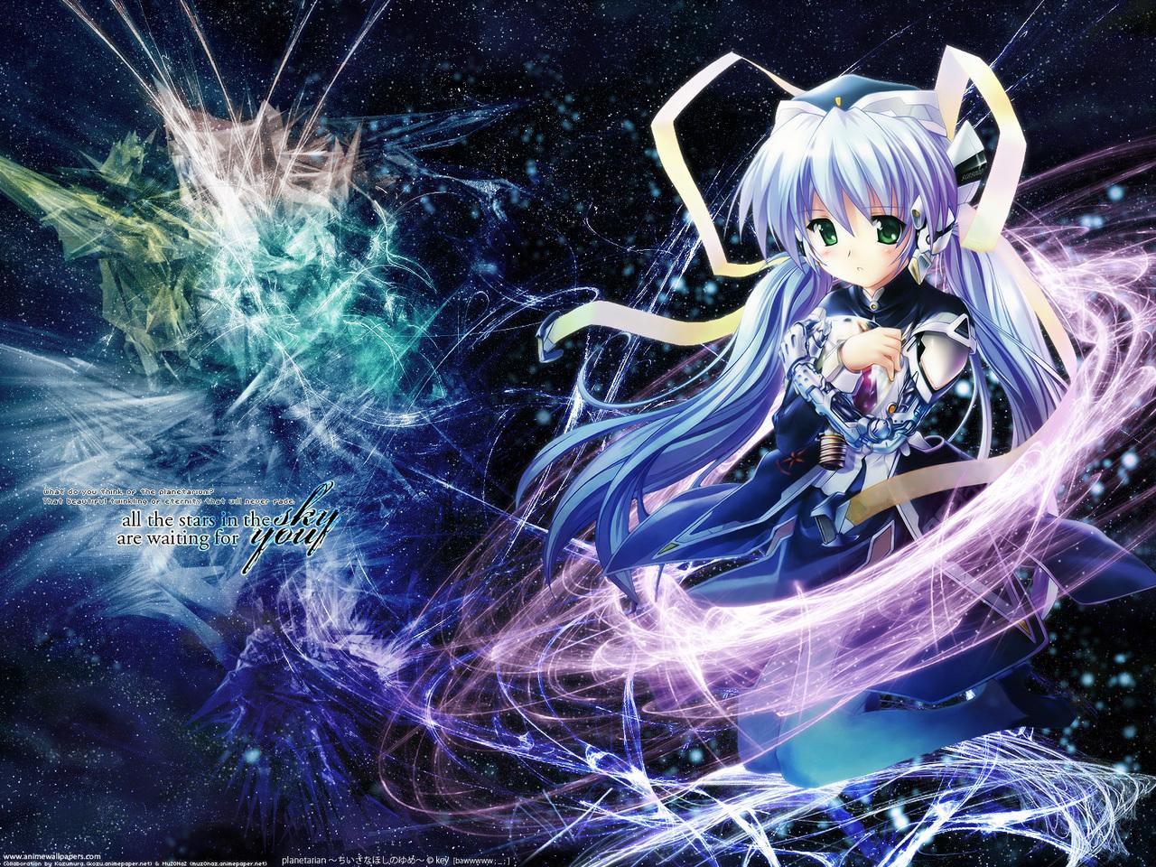 Planetarian: Chiisana Hoshi no Yume Game Wallpaper # 2